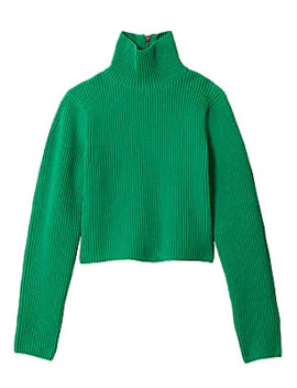 Technical Turtleneck Sweater by Tibi