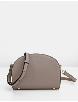 Priscilla Leather Cross Body Bag by Belle & Bloom