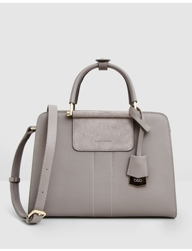 Almost Famous Leather Satchel by Belle & Bloom