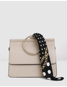 Brianna Runway Handbag With Scarf by Belle & Bloom