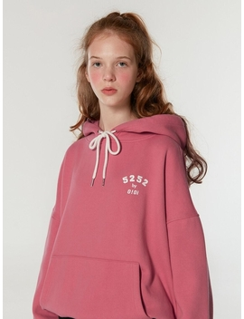 5252 Arch Logo Hoodie Pink by 5252 By O!Oi