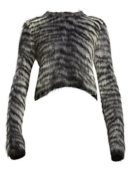 Khangyu Brushed Alpaca Sweater by Acne Studios