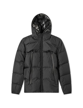 Moncler Montclar Taping Logo Hooded Down Jacket by Moncler