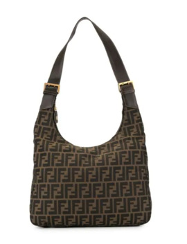 Zucca Pattern Shoulder Bag by Fendi Pre Owned