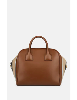Medium Leather Bowling Bag by Burberry
