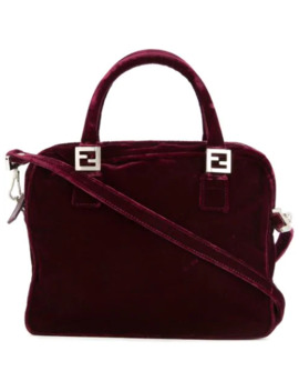 Logos 2way Hand Bag by Fendi Pre Owned