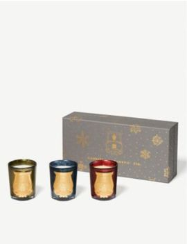 Christmas Candles Set Of 3 by Cire Trudon