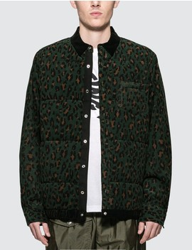 Leopard Print Shirt Jacket by              Sacai