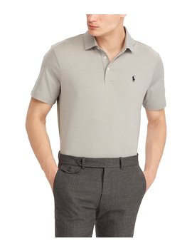 Solid Jersey Performance Short Sleeve Polo Shirt by Polo Ralph Lauren