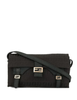 Zucca Pattern Hand Tote Bag by Fendi Pre Owned