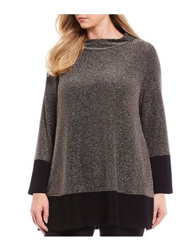 Plus Size Sparkle Top by Ic Collection