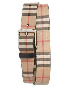 Vintage Check Belt by Burberry