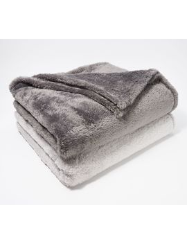 "Berkshire Blanket Set Of 2 60"" X 70"" Fluffie Throws by Berkshire Blanket"