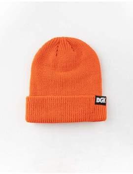 Dgk Classic Orange Beanie by Dgk