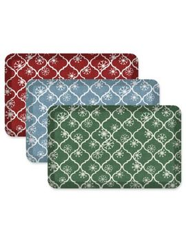 New Life® By Gel Pro® Designer Comfort Holiday Trellis by Bed Bath And Beyond