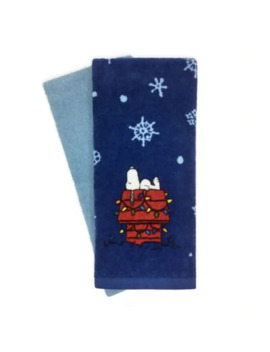 Peanuts™ 2 Piece Holiday Snoopy Kitchen Towels by Bed Bath And Beyond