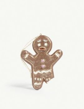 Gingerbread Man Christmas Tree Ornament 11cm by Christmas