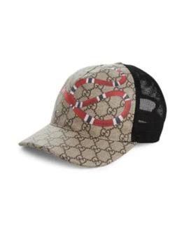 Snake Baseball Cap by Gucci