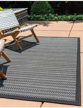 7' X 10' Outdoor Border Rug by E Sale Rugs