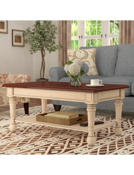 Topher Classic Coffee Table by Andover Mills