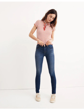 "10"" High Rise Skinny Jeans In Danny Wash: Tencel™ Denim Edition by Madewell"