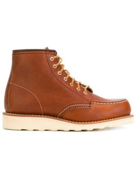 Lace Up Loafer Boots by Red Wing Shoes