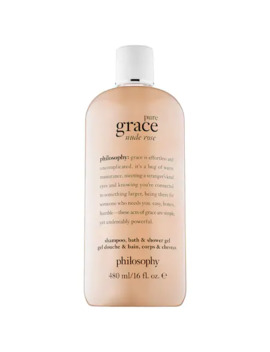 Pure Grace Nude Rose Shampoo, Bath, & Shower Gel by Philosophy