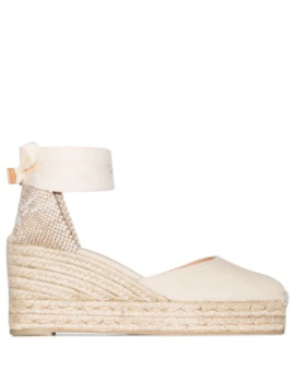 Carina 90mm Espadrille Wedges by Castañer