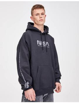 Sweatshirt Da Nasa Com Capuz by Pull & Bear