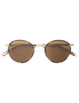 Wilson Round Frame Sunglasses by Garrett Leight