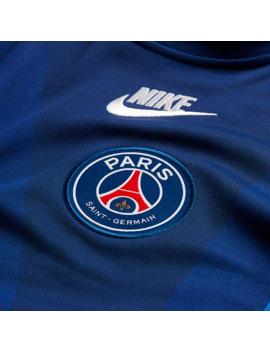 Nike Paris Saint Germain 19/20 Dry Crew Pmv   Blue Void/Hyper Royal/White by Pro Direct Soccer