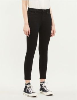 Verdugo Crop Skinny Mid Rise Jeans by Paige