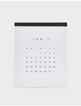 2020 Wall Calendar by Appointed Appointed