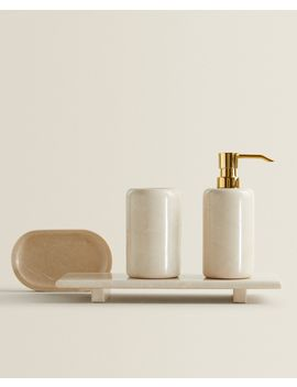 Marble Bathroom Set by Zara Home