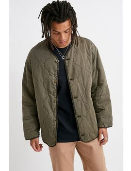Uo Quilted Liner Jacket by Urban Outfitters
