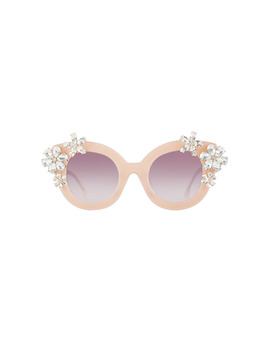 Madison Floral Sunglasses by Alice And Olivia