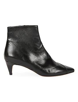 Durfee Leather Booties by Isabel Marant