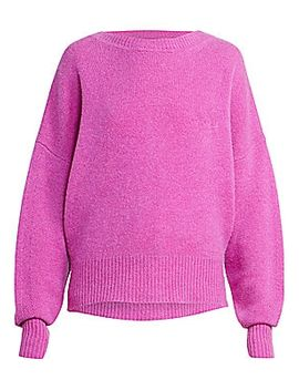 Caleb Backward Cardigan Cashmere Sweater by Isabel Marant