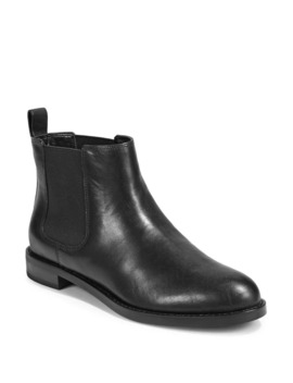 Classic Leather Chelsea Boots by Lauren Ralph Lauren