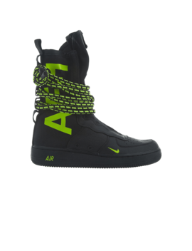 Sf Air Force 1 High 'black Volt' by Brand Nike