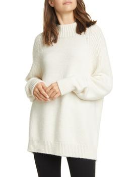 Boxy Mixed Stitch Sweater by Frame