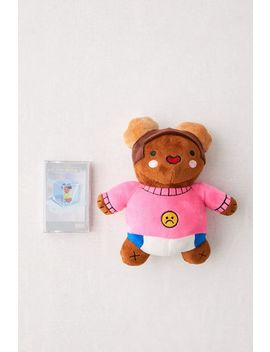 Tobi Lou   Live On Ice Cassette Tape And Plushie Gift Set by Urban Outfitters