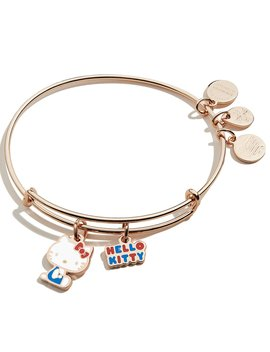 Hello Kitty Charm Duo Bangle Bracelet by Alex And Ani