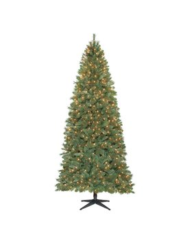 Willow 9' Green Pine Artificial Christmas Tree With 650 Clear Lights by The Holiday Aisle
