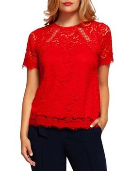 Crochet Lace Top by Dex