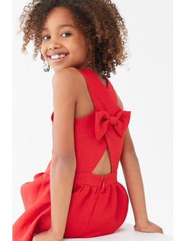 Girls Crisscross Back Dress (Kids) by Forever 21