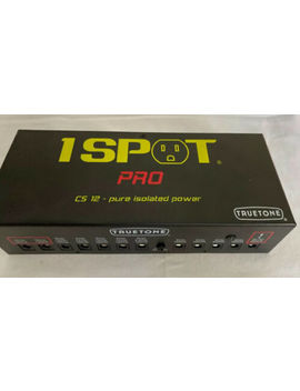 True Tone 1 Spot Pro Cs 12 Isolated Pedal Power Supply by True Tone