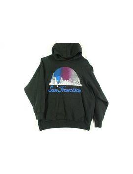 Vintage 90s San Francisco Hoodie Sweatshirt Skate Tourist Shirt Supreme Mens S by Textile Prints