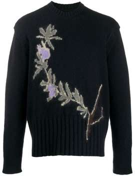 Floral Intarsia Sweater by Jacquemus