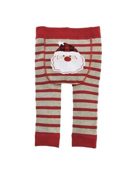 Santa Knitted Pants 0 6 Months by Mud Pie